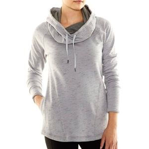 NEW Lucy Dance Workout Pullover Hoodie Gray